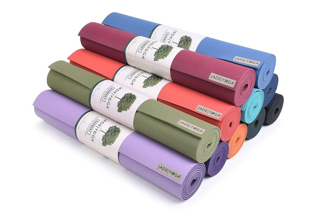 stack of jade harmony yoga mats review
