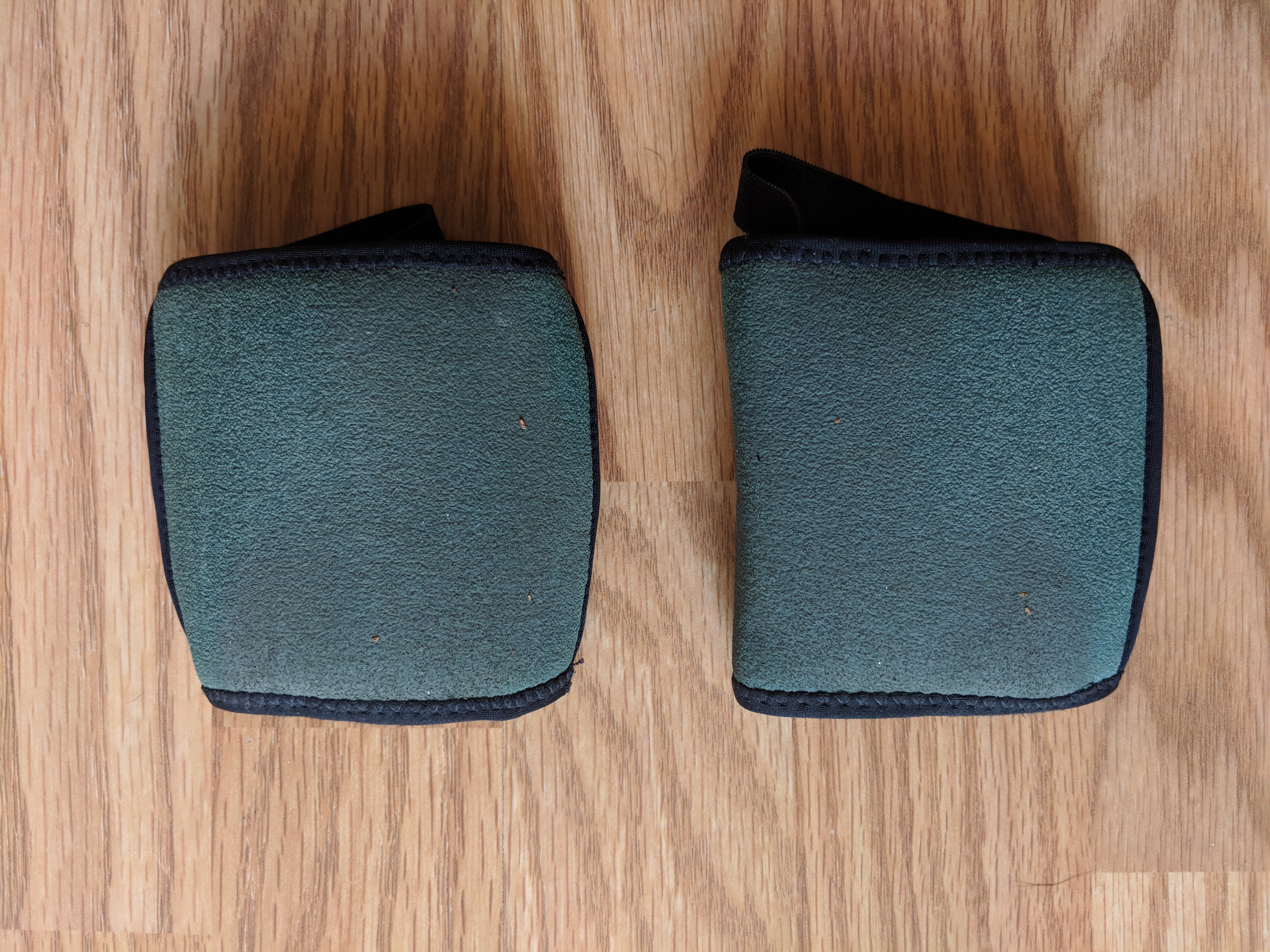 Yoga Paws Review - Wearable Foot Pads (bottom)