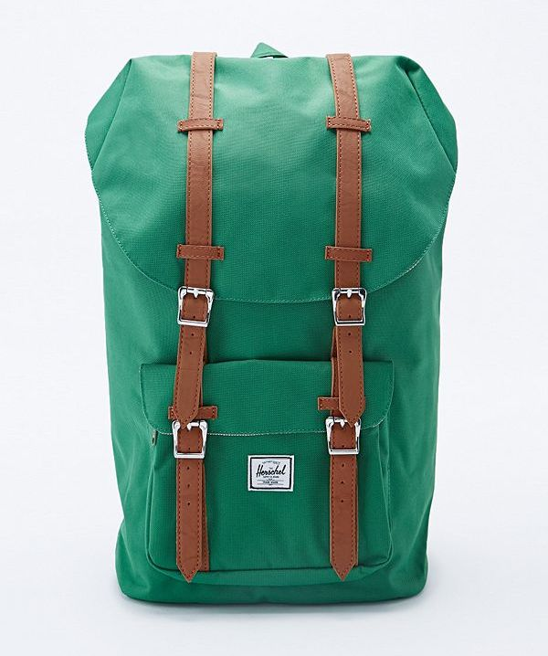 herschel supply co little america backpack emerald green