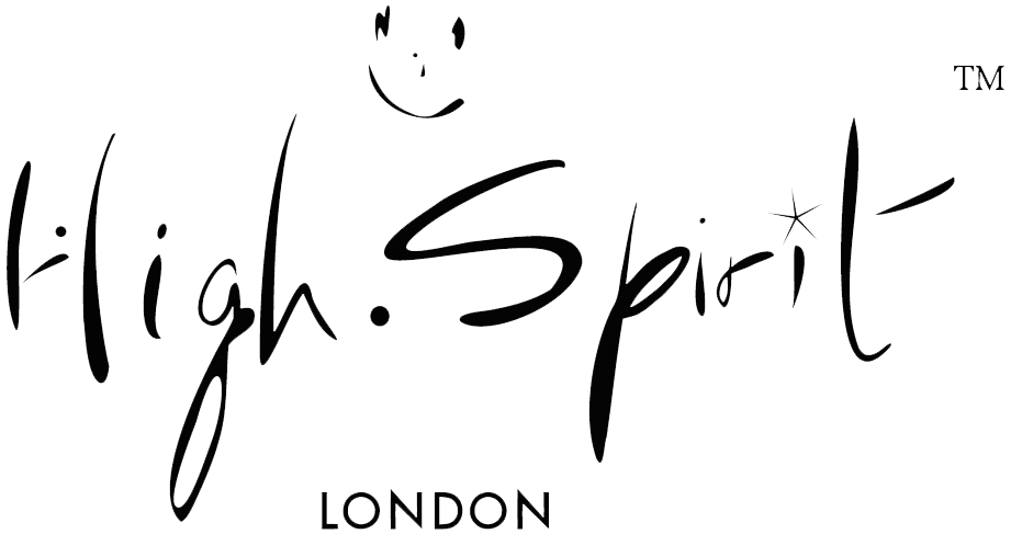 high spirits bag logo