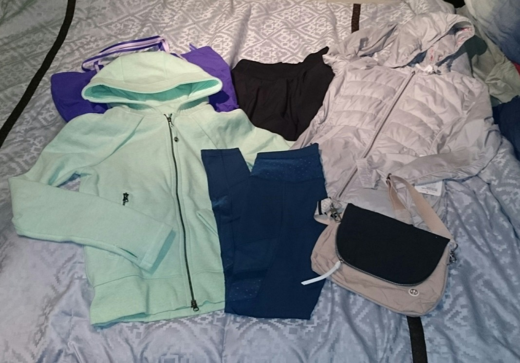 lululemon warehouse sale haul 4