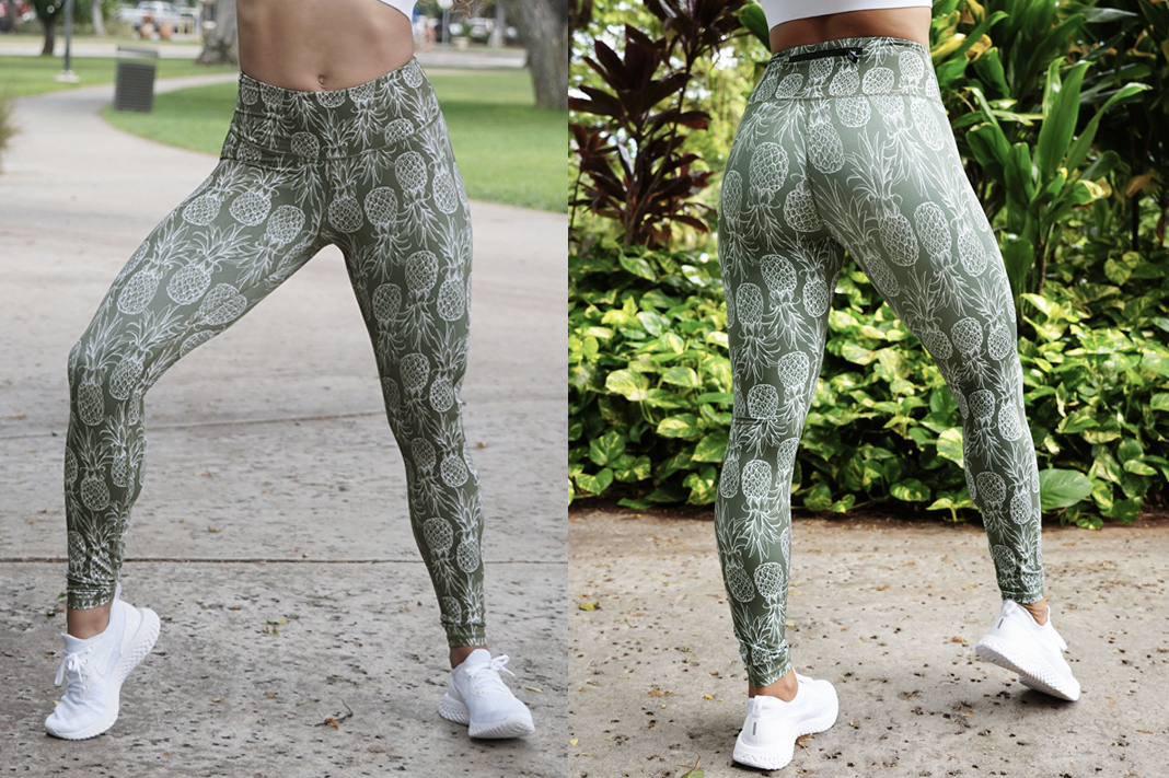 love fitness apparel pineapple printed leggings schimiggy reviews