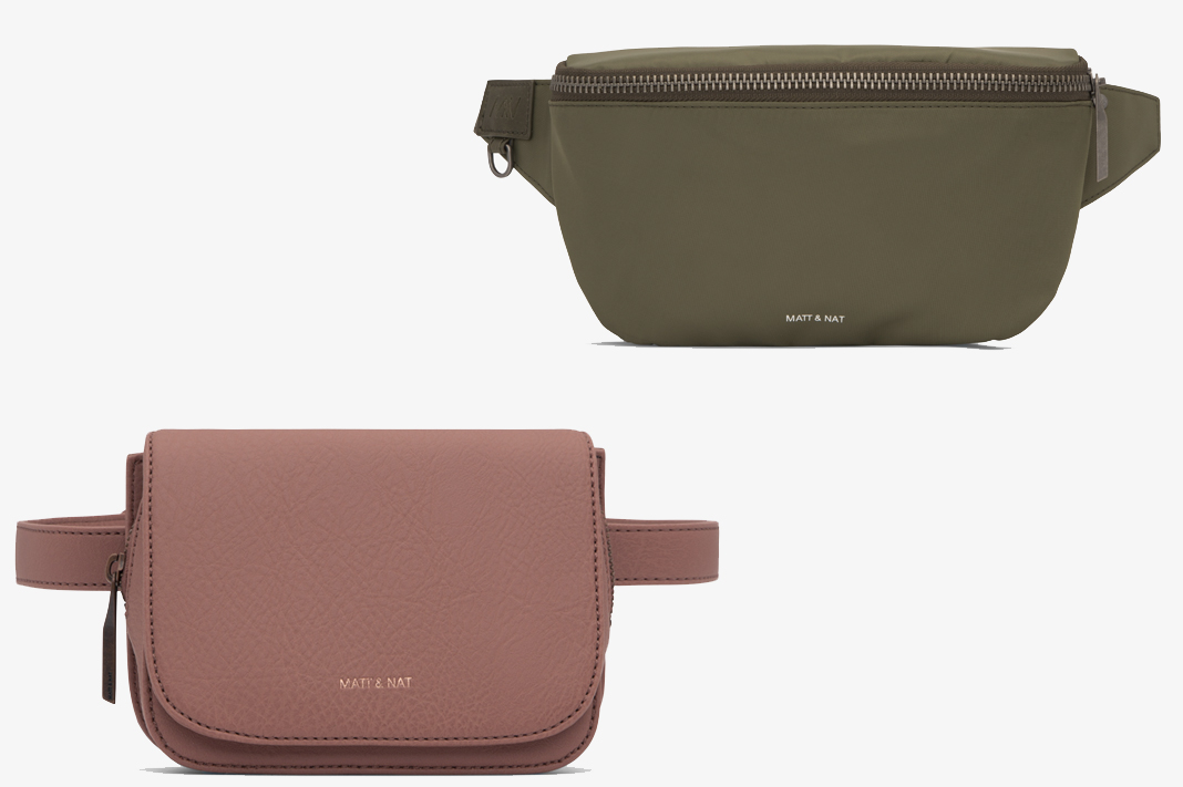 matt and nat fanny pack waist bag vegan accessories