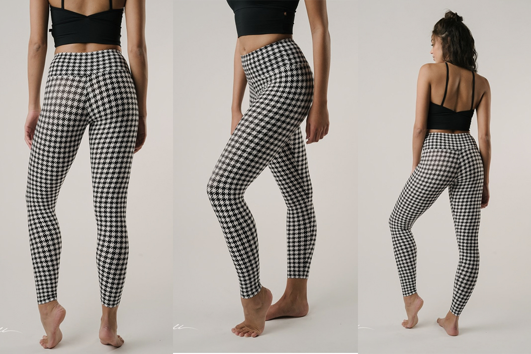 brazil pants houndstooth printed leggings schimiggy reviews