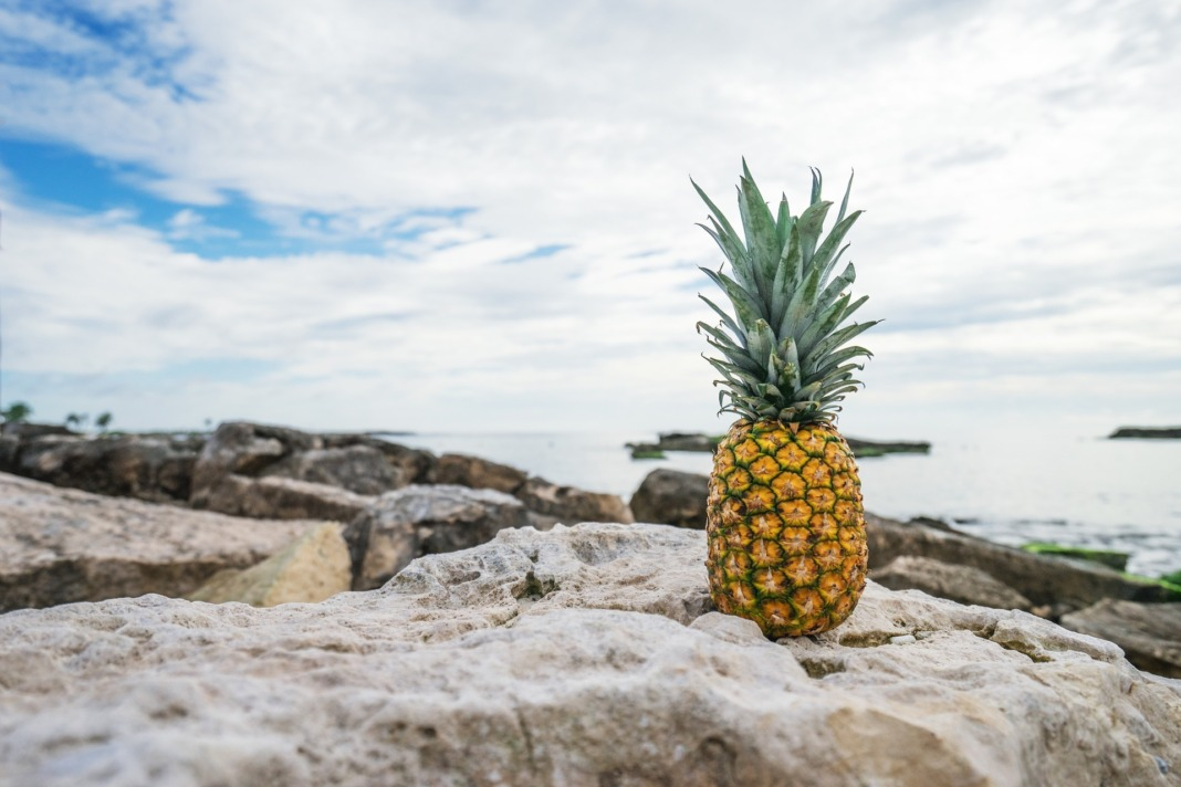 pineapple-on-beach-summer-sweet