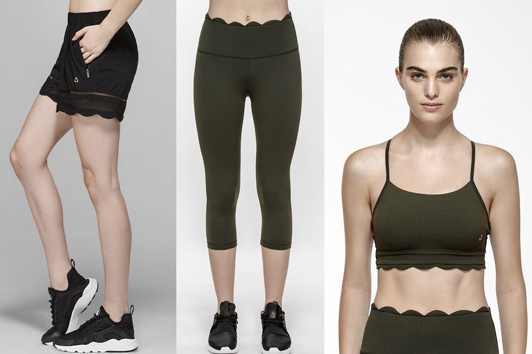 scallop hem activewear titika coupon code