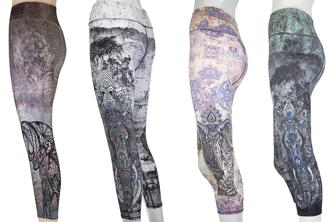 EVCR evolution and creation elephant yoga pants leggings schimiggy reviews