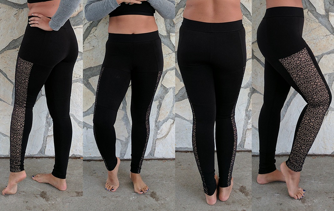 blue life fit leggings review