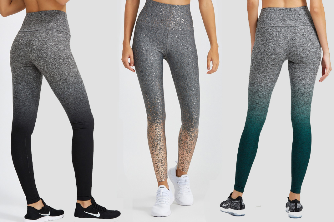 beyond yoga ombre high waist leggings space dye