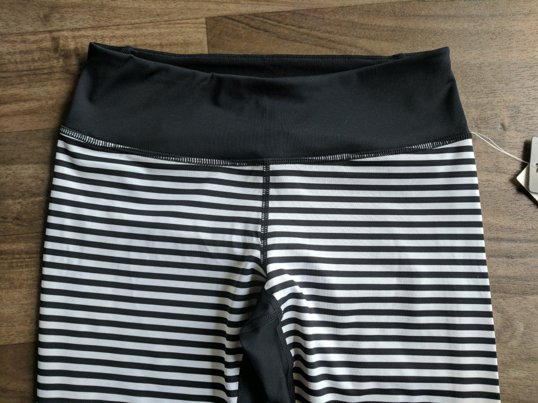 z by zella nordstrom waistband front