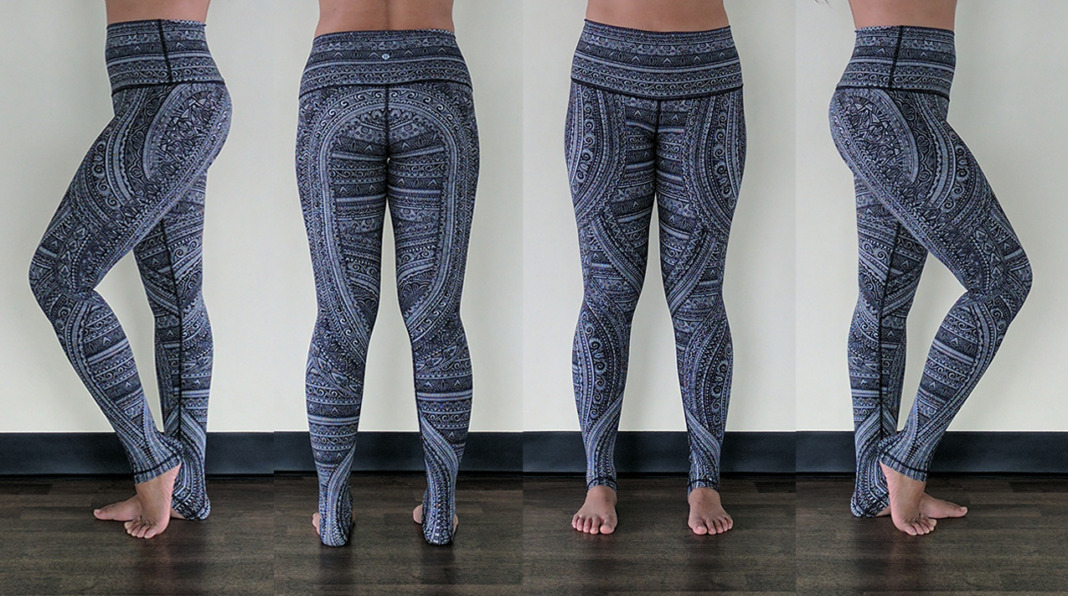 lululemon entwined leggings try on schimiggy yoga
