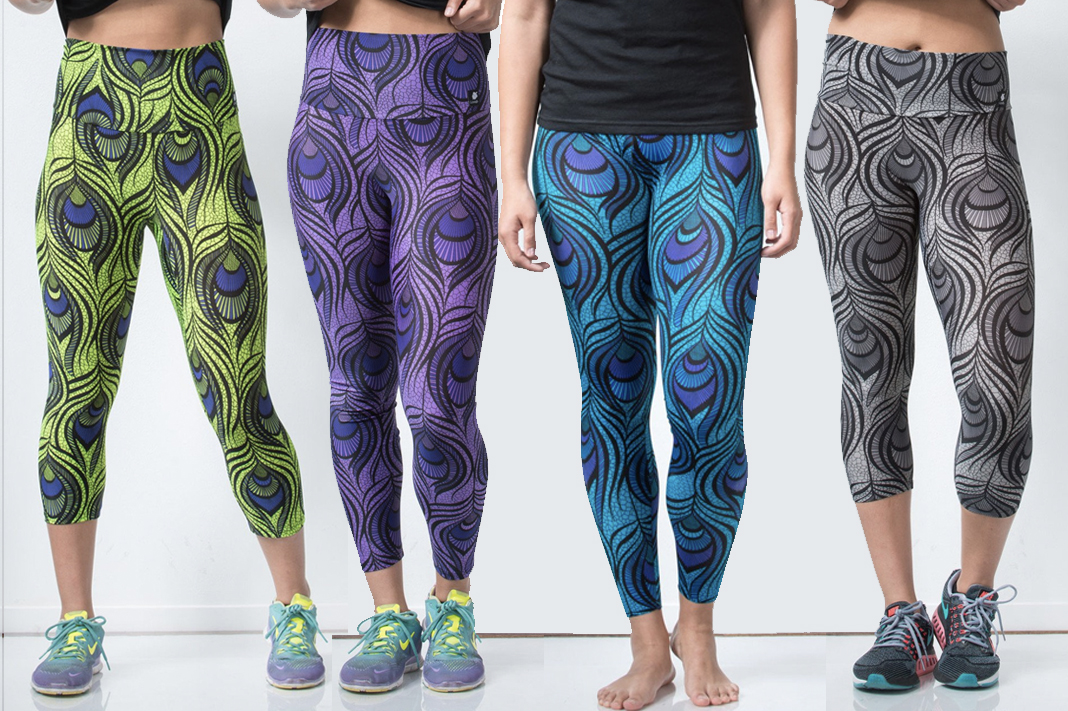 lineage wear review peacock leggings