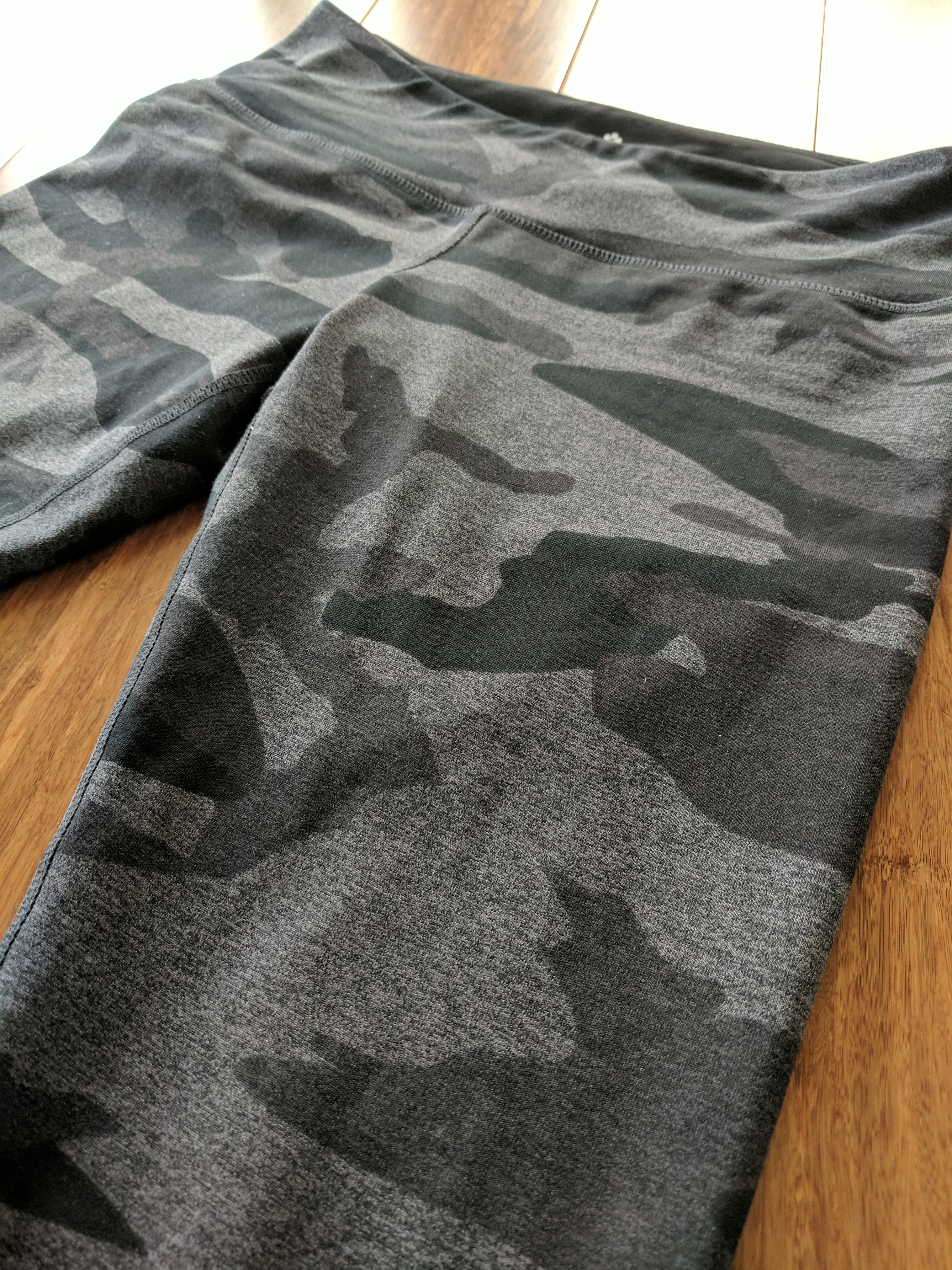 tuff athletics leggings review camo mix grey pattern
