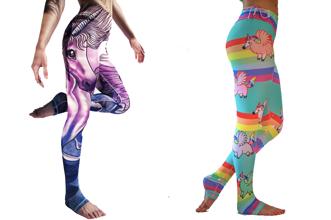 arthletic wear unicorn leggings