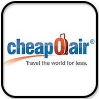 cheapoair logo travel resources