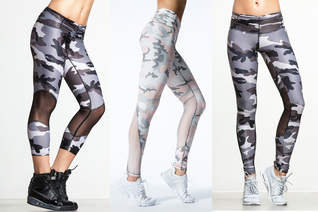 chill by will camo printed leggings