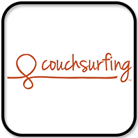 couchsurfing logo travel resources