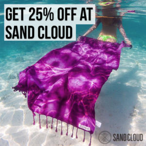 sand cloud coupon discount promo code