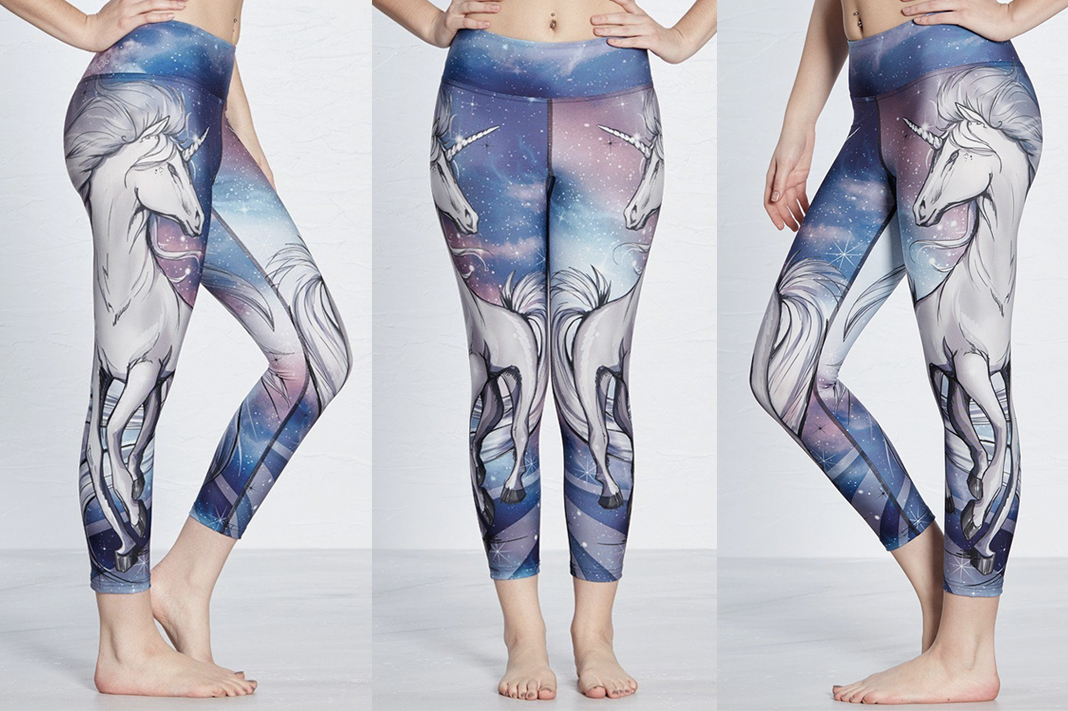 werkshop unicorn leggings