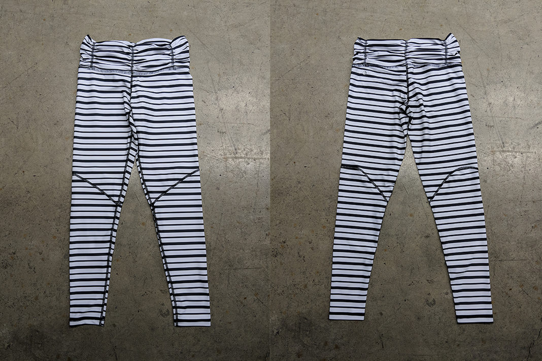 Chill by Will Stripe Blessed Legging Review front back
