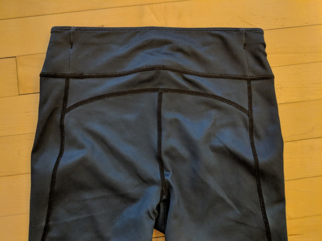 Sweaty Betty Review Chandrasana leggings waistband back