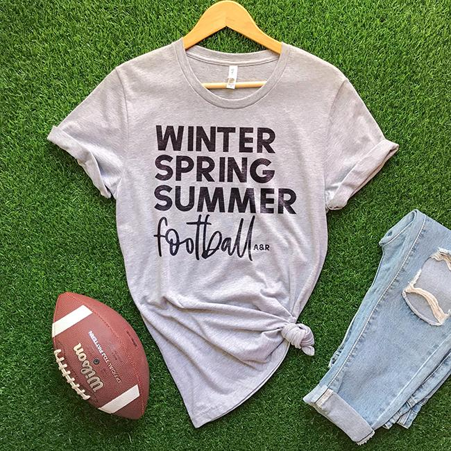 Alley and Rae Football Season T-Shirt