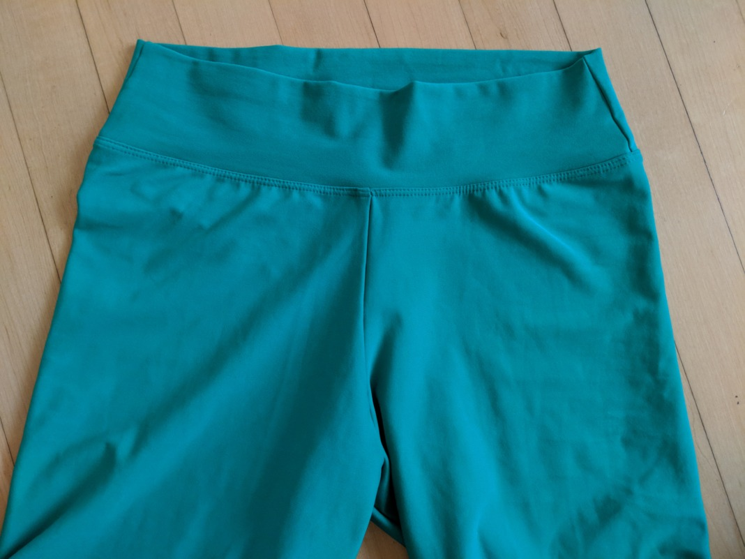 liquido review oasis green leggings