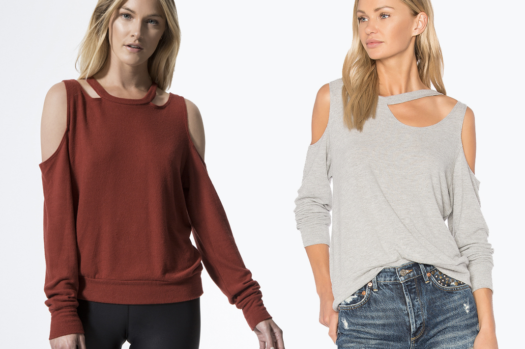 lna sweaters earl cut out and leon sweater