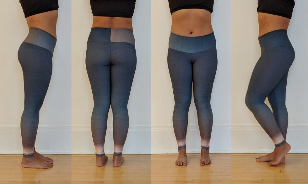 niyama sol review twilight ombre barefoot leggings try on