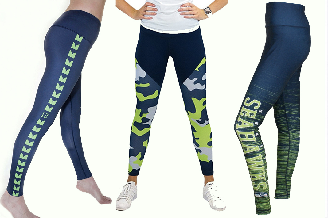 seahawks leggings and gear amazon schimiggy