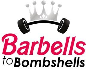 barbells to bombshells logo