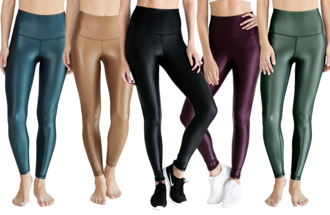 dyi high shine signature tight shiny leggings schimiggy