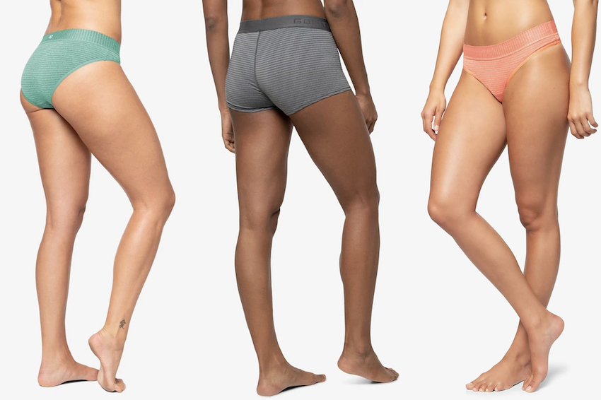 golite sustainable eco-friendy women's underwear for working out