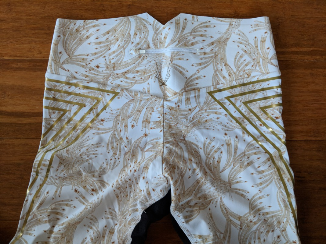 Lucas Hugh Goldleaf Leggings Waistband (back)