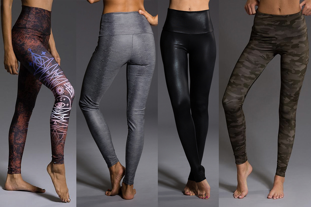 onzie review graphic printed high waist long leggings schimiggy