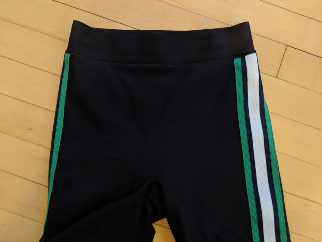ultracor review ultra high waist collegiate leggings waistband front