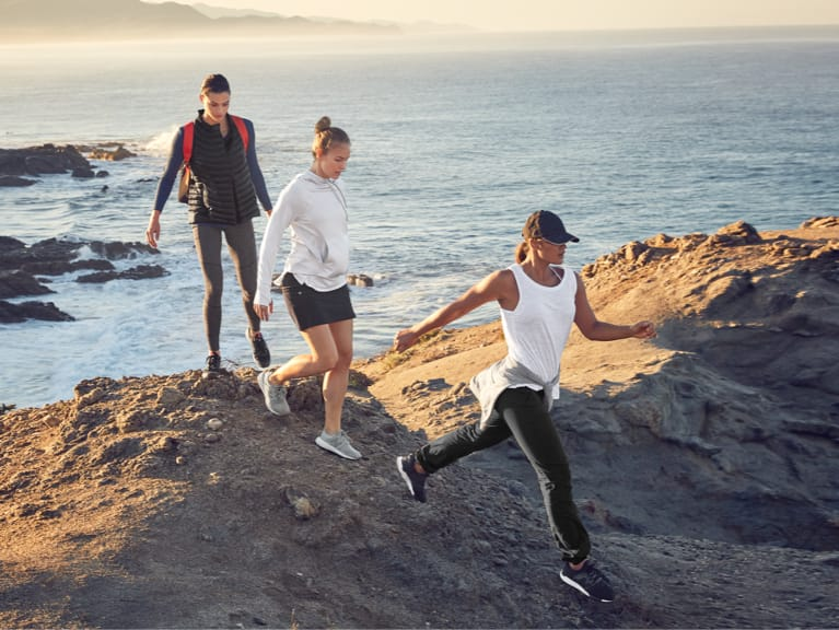 athleta rei collaboration hiking outdoors