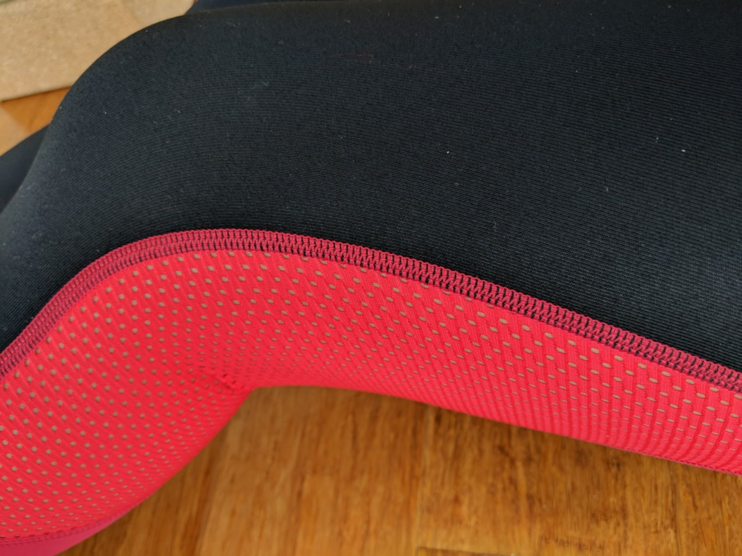 Barbells to Bombshells - Heart Booty Leggings - Mesh Detail