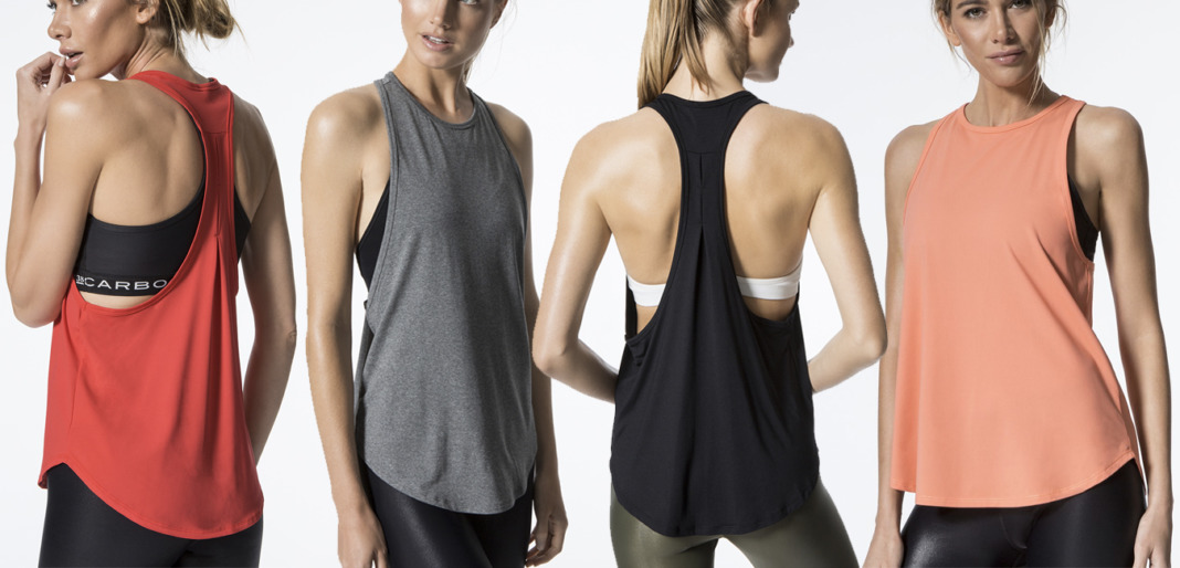 Carbon38 Charge tank top