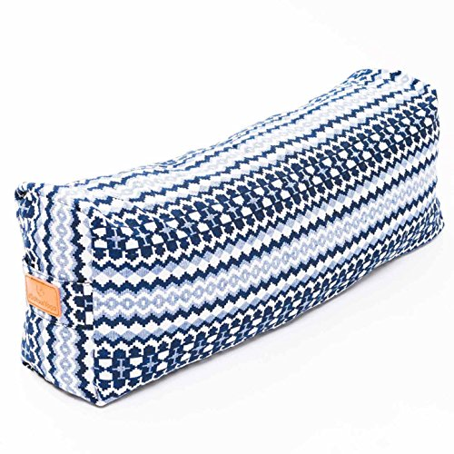 doyouryoga bolster printed blue yoga props you need