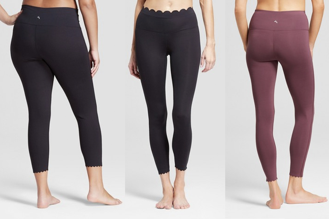 target joylab scallop hem review activewear