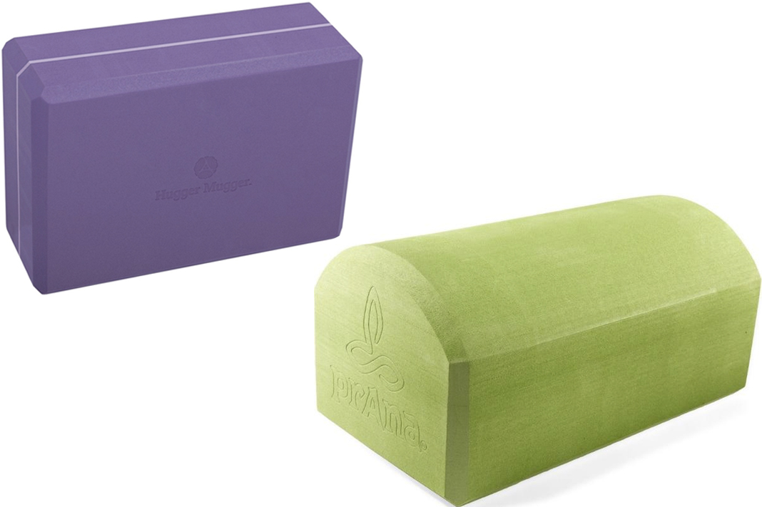 yoga props you need hugger mugger prana wonderblock foam