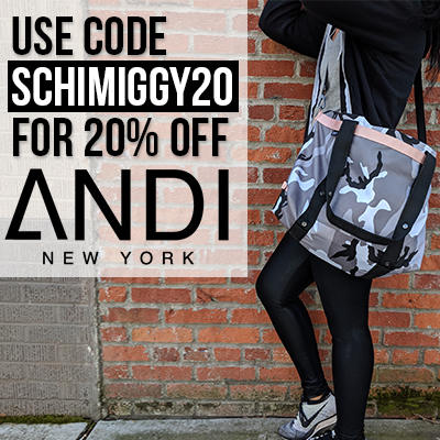 ANDI New York Coupon Code Signature Bag Schimiggy reviews