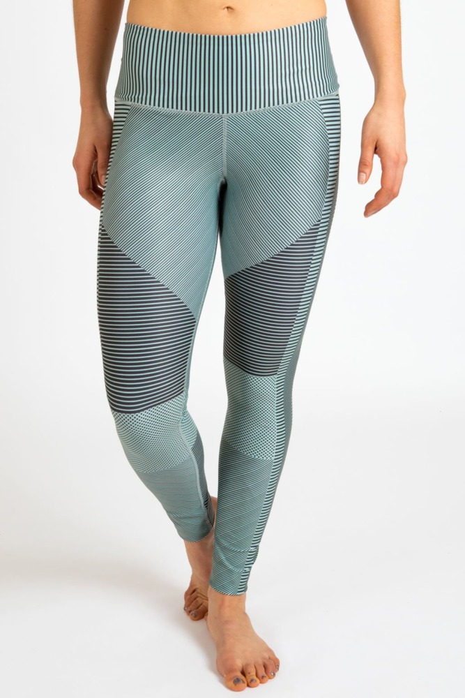 inner fire mint moto leggings front