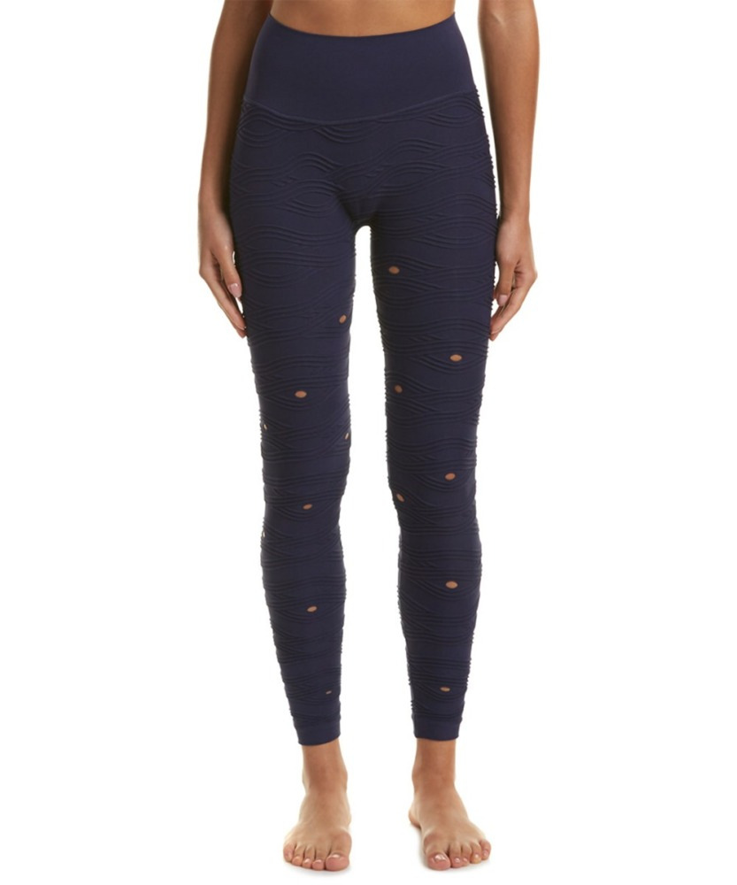 phat buddha 125th street crop leggings navy