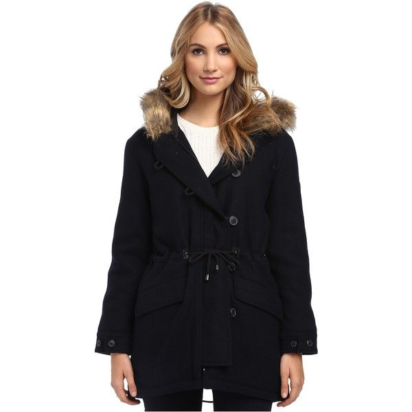 spiewak and sons fishtail wool fur trim jacket front 2