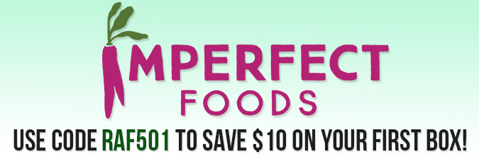 Imperfect Foods $10 off coupon code RAF501