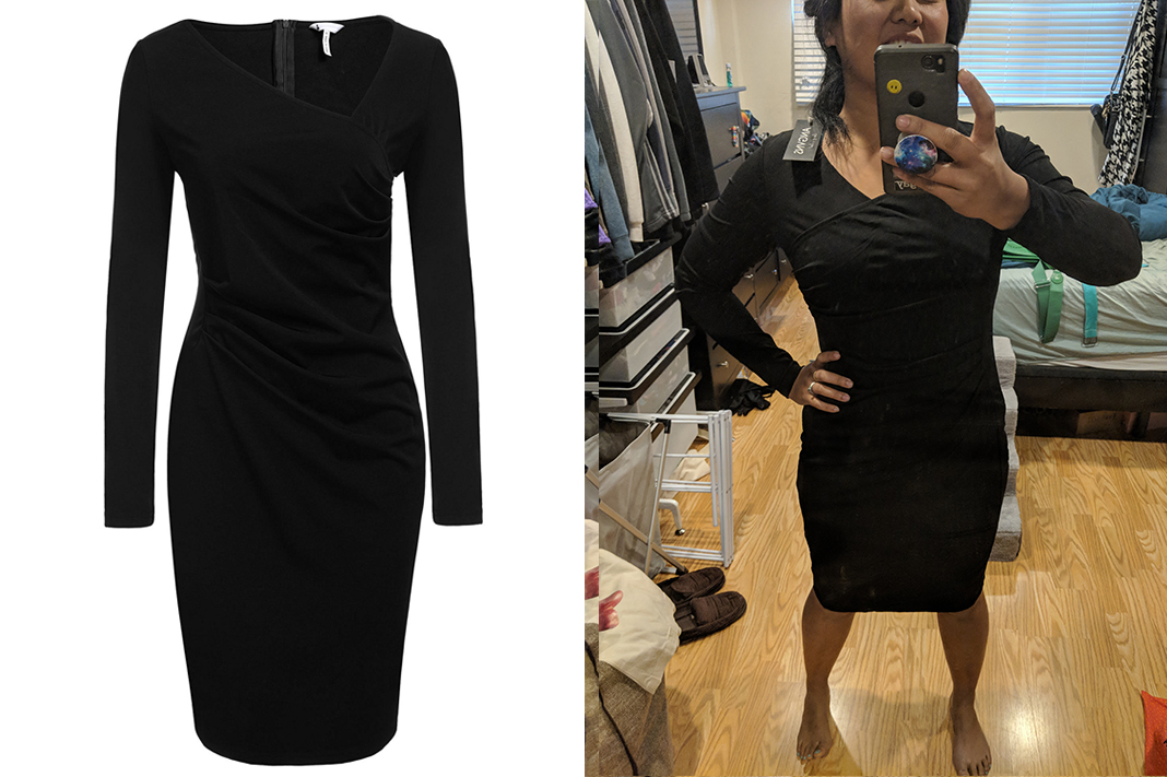 sohune business little black dress body con cocktail schimiggy reviews