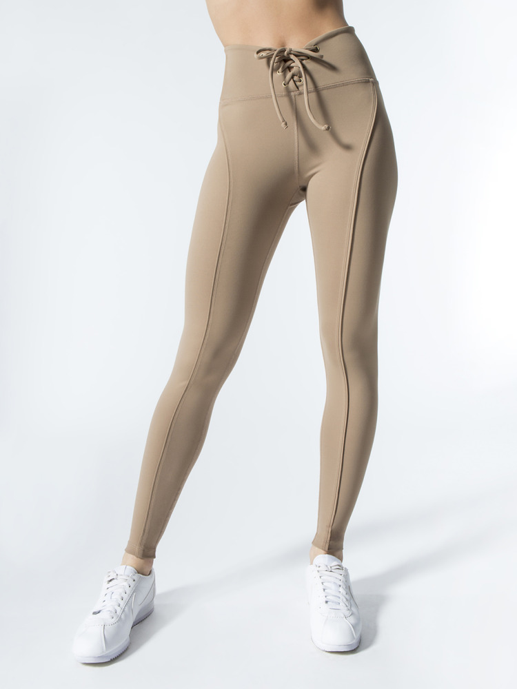 year of ours football legging doe nude front