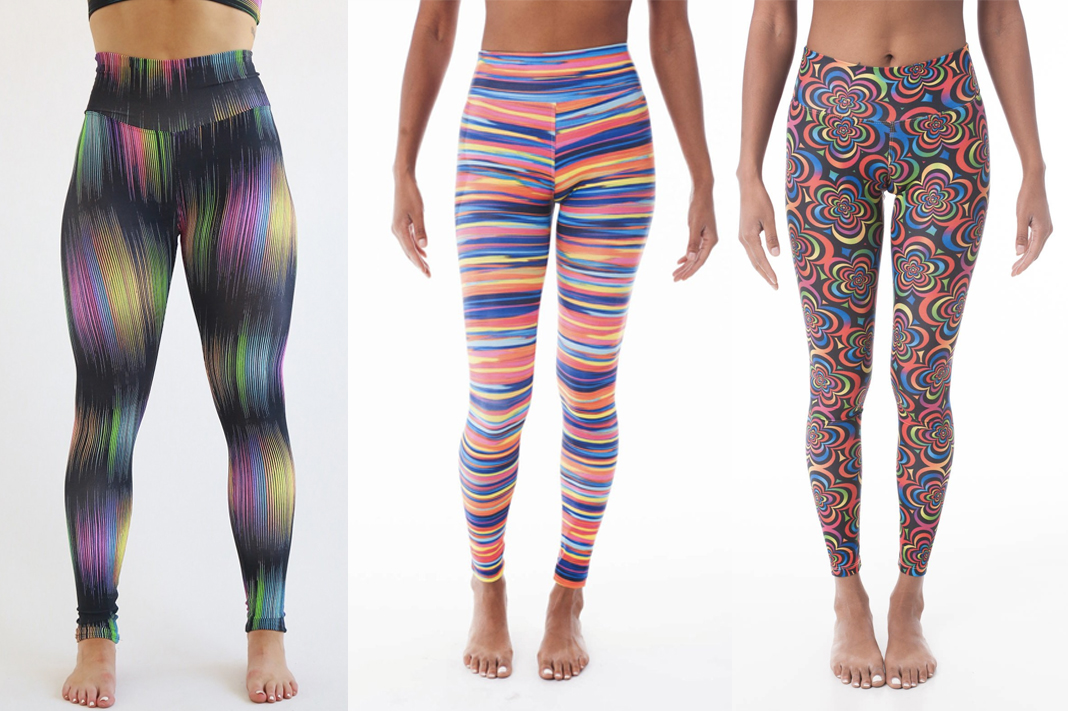 kdw review womens activewear leggings rainbow
